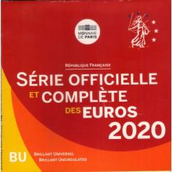 Francia. 2020. Cartera Oficial (SC)