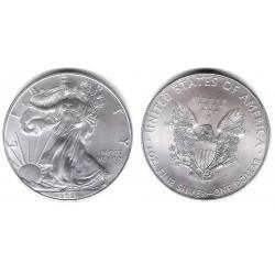 Estados Unidos de América. 2021. 1 Dollar (SC) (Plata)