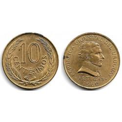 (39) Uruguay. 1960. 10 Centesimos (EBC)