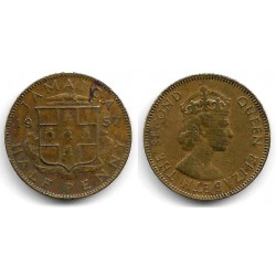 (36) Jamaica. 1957. Half Penny (BC)