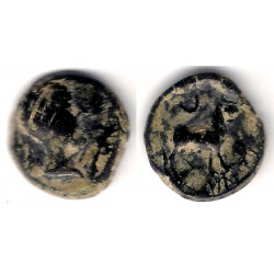 Cástulo (Jaén). 50 a.C. Semis (MBC-)