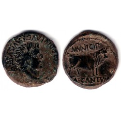 Cascantum (Navarra). 120 a 20 a.C. As (MBC+)