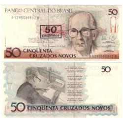 (223) Brasil. 1990. 50 Cruzeiros (SC)
