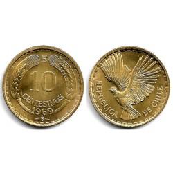 (191) Chile. 1969. 10 Centesimos (EBC)