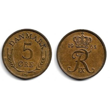 (848.1) Dinamarca. 1965. 5 Ore (MBC)