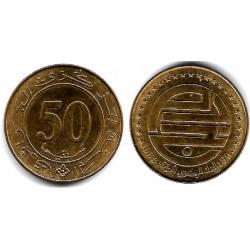 (119) Algeria. 1988. 50 Cent (EBC)