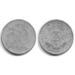 (12.1) Alemania Democrática. 1958(A). 50 Pfennig (BC-)