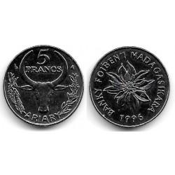 (21) Madagascar. 1996. 5 Francs (SC)