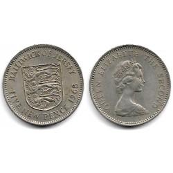 (32) Jersey. 1968. 5 New Pence (MBC+)