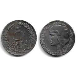 España (II República). 1937. 5 Céntimos (MBC)