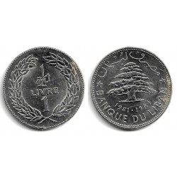 (30) Líbano. 1981. 1 Livre (EBC+)