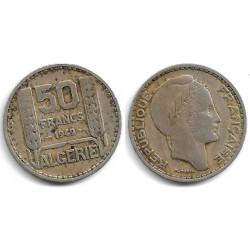(92) Algeria. 1949. 50 Francs (BC)