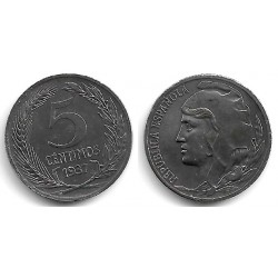 España (II República). 1937. 5 Céntimos (EBC)