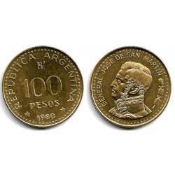 (82) Argentina. 1980. 100 Pesos (SC)