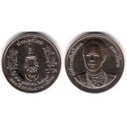 (Y317) Tailandia. 1996(2539). 2 Baht (SC)