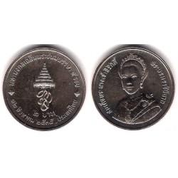 (Y259) Tailandia. 1992(2535). 2 Baht (SC)