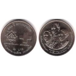 (Y279) Tailandia. 1993(2536). 2 Baht (SC)
