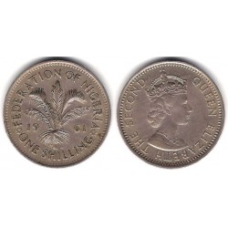 (5) Nigeria. 1961. 1 Shilling (MBC+)