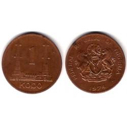 (8.1) Nigeria. 1974. 1 Kobo (BC+)