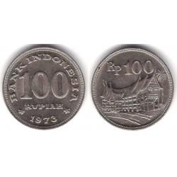 (36) Indonesia. 1973. 100 Rupiah (MBC+)