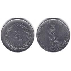 (893.2) Turquía. 1970. 2½ Lira (MBC)