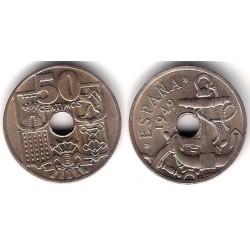 Estado Español. 1949*(19-51). 50 Céntimos (SC)