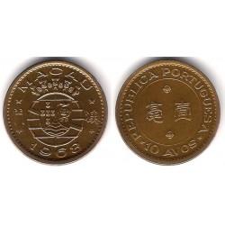 (2a) Macao. 1968. 10 Avos (EBC)
