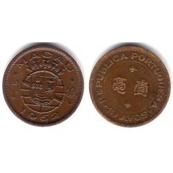 (2) Macao. 1952. 10 Avos (MBC)