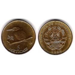(116) Mozambique. 1994. 5 Meticais (EBC+)