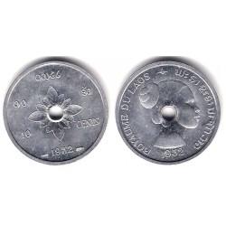 (4) Laos. 1952. 10 Cents (SC)