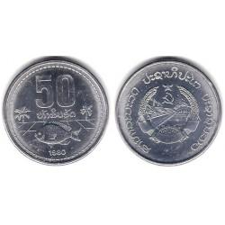 (24) Laos. 1980. 50 Att (SC)