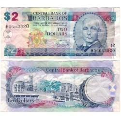 (66) Barbados. 2012. 2 Dollars (MBC)