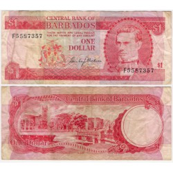 (29) Barbados. 1973. 1 Dollar (MBC)