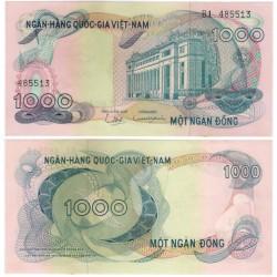 (29) Vietnam del Sur. 1971. 1000 Dong (SC)