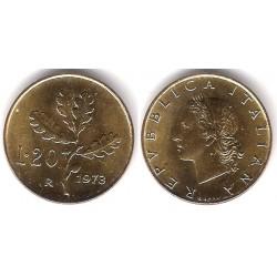 (97.2) Italia. 1973. 20 Lira (SC)