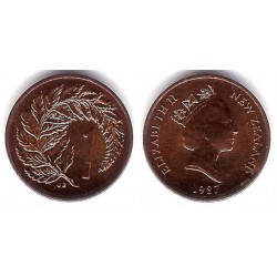 (58) Nueva Zelanda. 1987. 1 Cent (SC)