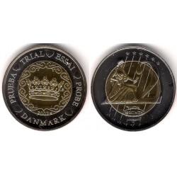 Dinamarca. 2002. 2 Euro (SC) Prueba. Specimen