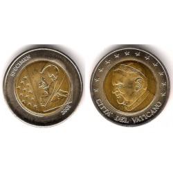 Ciudad del Vaticano. 2005. 2 Euro (SC) Prueba. Specimen