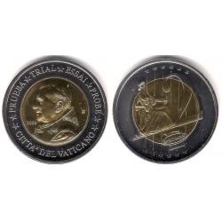 Ciudad del Vaticano. 2006. 2 Euro (SC) Prueba. Specimen
