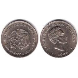 (217) Colombia. 1965. 50 Centavos (EBC)