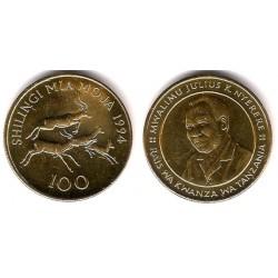 (32) Tanzania. 1994. 100 Shilingi (EBC)