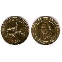 (32) Tanzania. 1994. 100 Shilingi (EBC-)