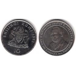 (20a) Tanzania. 1993. 10 Shilingi (SC)