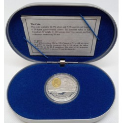(276) Canadá. 1996. 20 Dollars (Proof) (Plata)