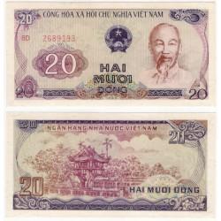 (94a) Vietnam. 1985. 20 Dong (SC)
