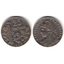 (856) Francia. 1905. 25 Centimes (MBC)