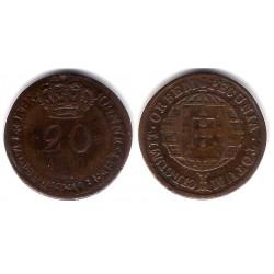 (18) Mozambique. 1820. 20 Reis (BC)