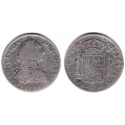 Carlos III. 1788. 8 Reales (BC+) (Plata) Ceca de Mejico FM