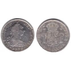 Carlos III. 1772. 8 Reales (MBC-) (Plata) Ceca de Mejico FM