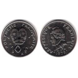 (8) Polinesia Francesa. 1979. 10 Francs (SC)